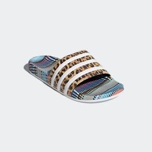adidas Originals Adilette Slides FARM Leopard